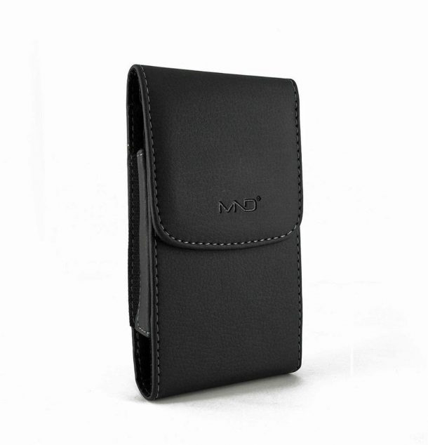 MND Vertical Leather Case
