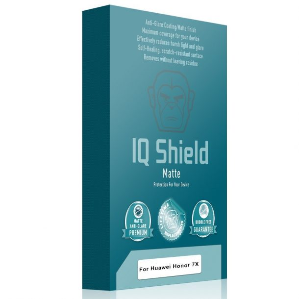 IQ Shield Matte Screen Protector for Huawei Honor 7X