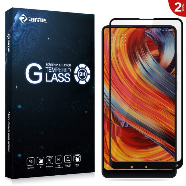 Riffue Full Coverage Screen Protector for Xiaomi Mi Mix 2