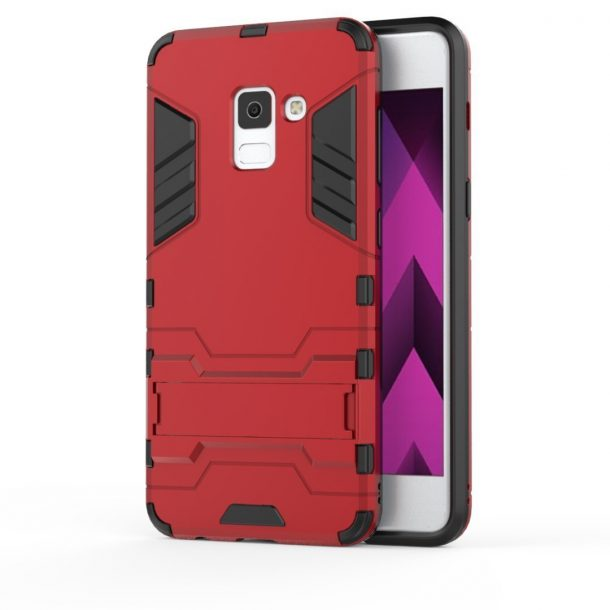 TopACE Slim Shockproof Hybrid Case for Samsung Galaxy A8 2018