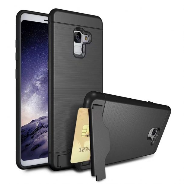 VMAE High Impact Bumper Cover Case for Samsung Galaxy A8 2018