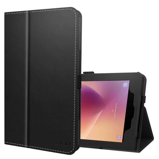 Ztotop Folio Leather Tablet Case for Samsung Galaxy Tab A 8.0