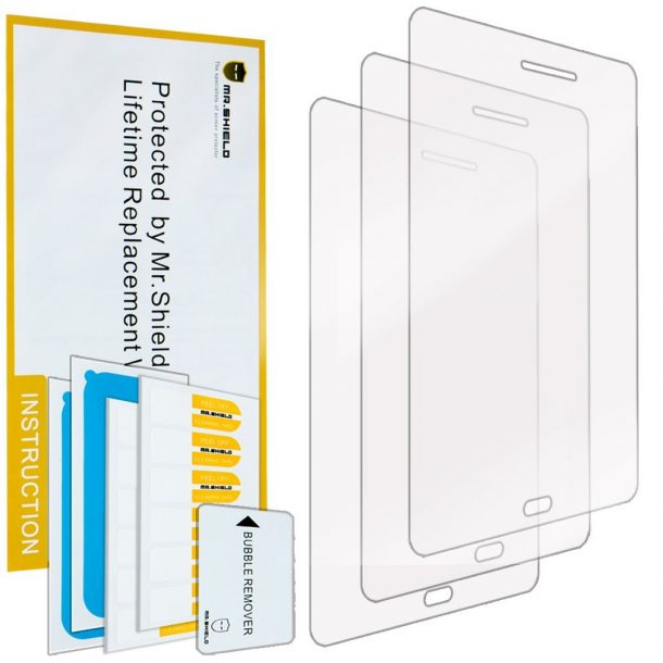 Mr. Shield Premium Clear Screen Protector for Samsung Galaxy Tab A 8.0 ($6.95)