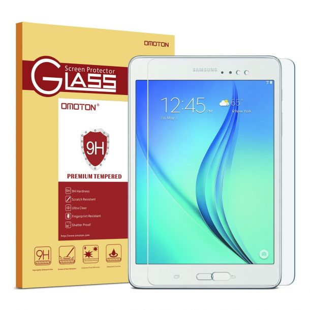 OMOTON ThinTempered Glass Screen Protector for Samsung Galaxy A Tab 8.0 ($9.99)