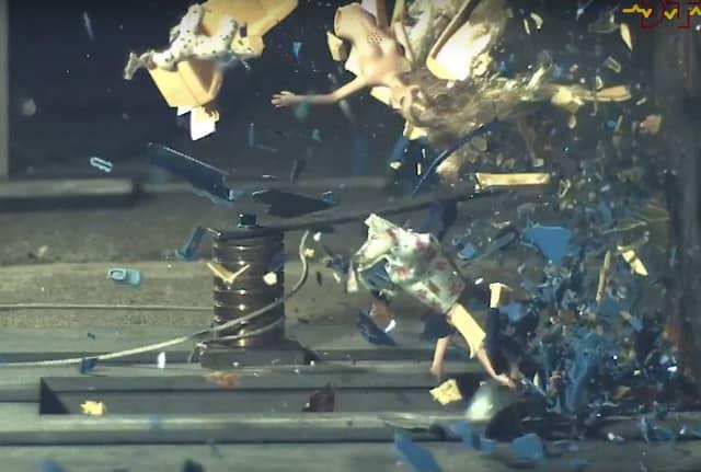 Watch How These Toys Go Through A 120 MPH Crash Test