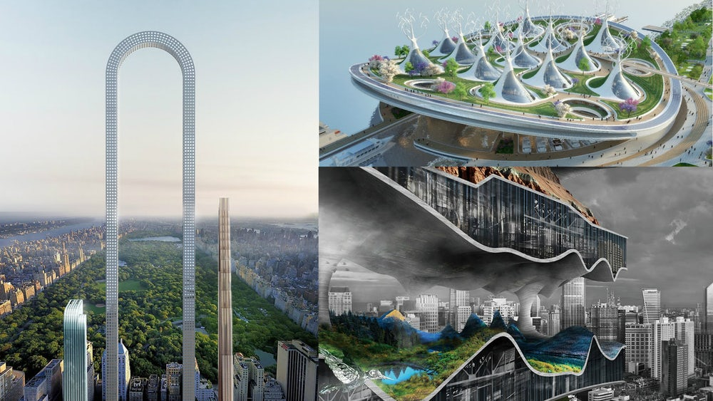 These are the best architectural concepts of 2017 that for Kasetas architectural concepts