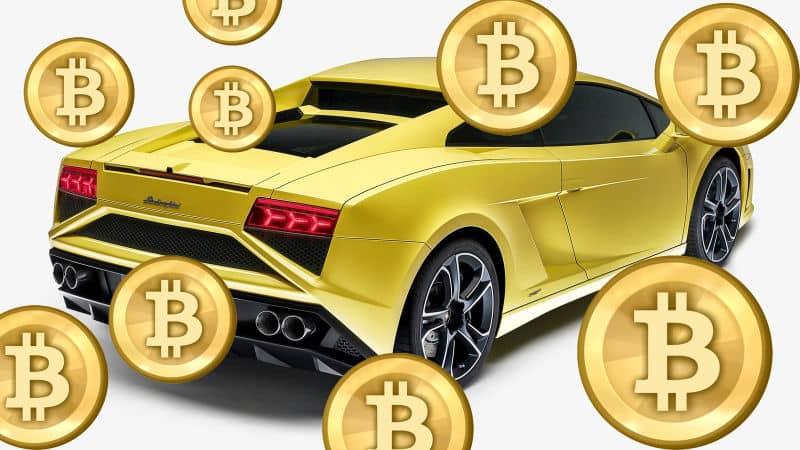 Lamborghini bitcoin