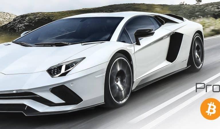 You Can Now Trade Your Bitcoins For A Lamborghini Gallardo