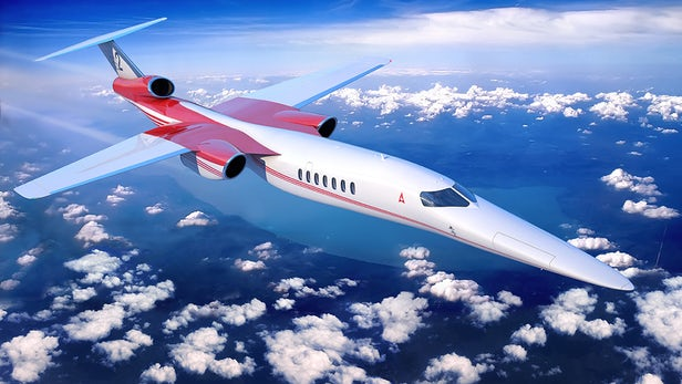 Aerion AS2 Is The World's First Supersonic Business Jet