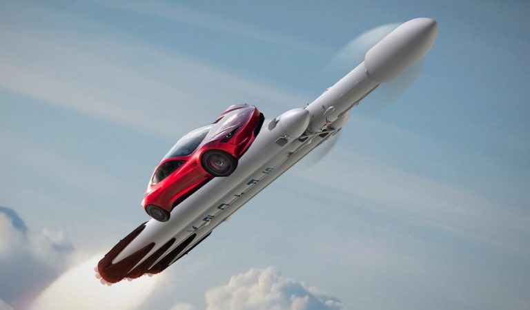 Tesla Is Sending Its Roadster To Take A Tour Of Mars