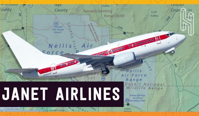 This Secret US Government Airline Flies In And Out Of Area 51 Everyday