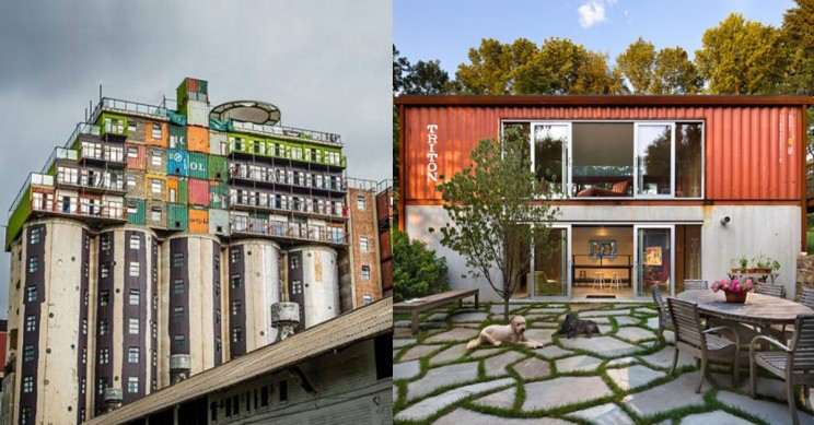 These 15 Amazing Buildings Are Made Out Of Recycled Shipping Containers