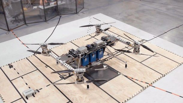 Giant drone can carry 500 pounds of cargo