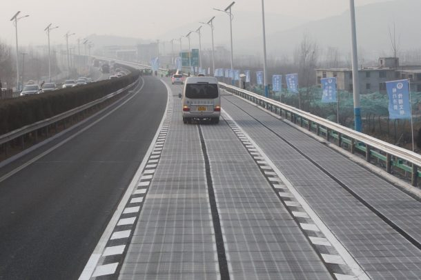 Thieves Steal A Section Of The Newly Installed Solar Road