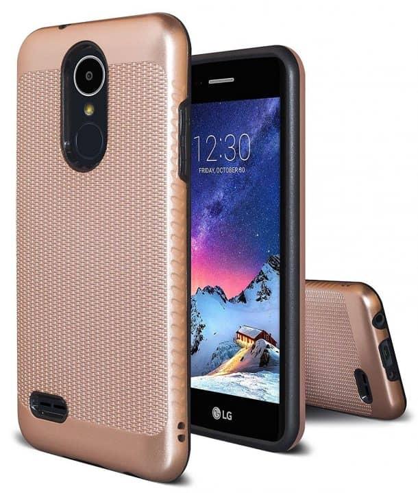 ASMART Dual Layer Armor Phone Case for LG Aristo 2