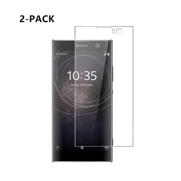 ljie Tempered Glass Screen Protector for Sony Xperia XA2 Ultra