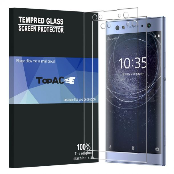 TopACE Premium Tempered Glass Screen Protector for Sony Xperia XA2 Ultra ($8.98)