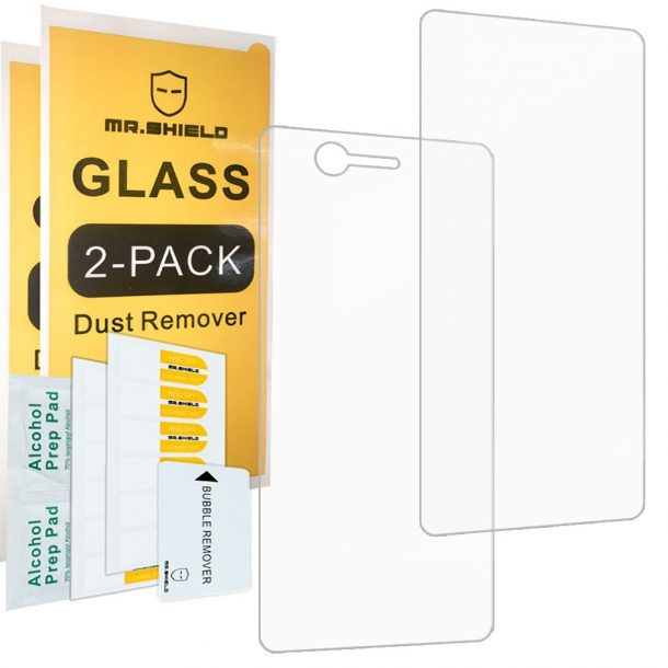 Mr Shield Tempered Glass Screen Protector for ZTE Axon M