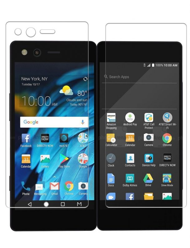 TopACE Premium Quality Tempered Glass Screen Protector for ZTE Axon M