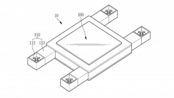 Samsung Files Patent for Drone That Can Be Controlled by Eyes