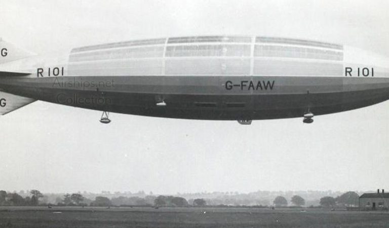 Here's Why This British Airship R 101 Needed Tons Of Ox Intestines To Take Off