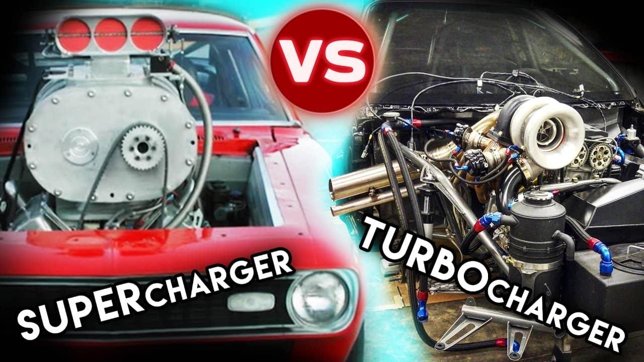 engine supercharged turbocharged
