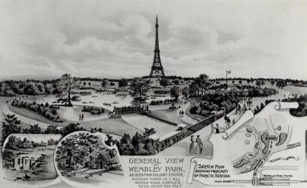 England Tried To Build Their Own Eiffel Tower Named Watkin's Tower But Couldn't Build It