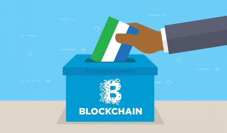Sierra Leone Employs Blockchain Technology To Verify Election Data