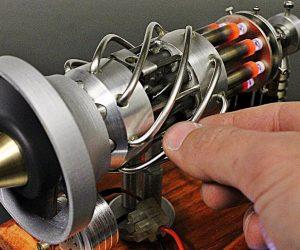 16 cylinder Stirling engine