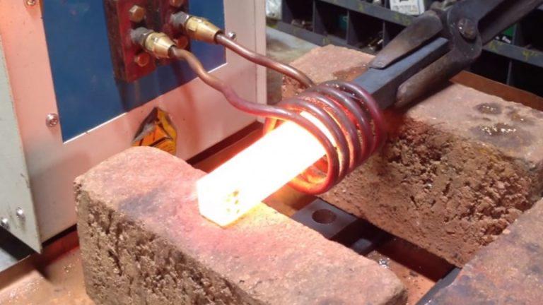 steel heating