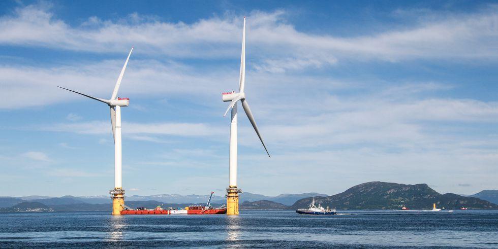 hywind offshore wind turbine