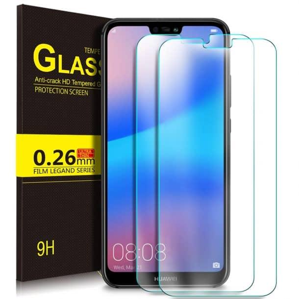 KuGi Tempered Glass Screen Protector for Huawei P20 Lite