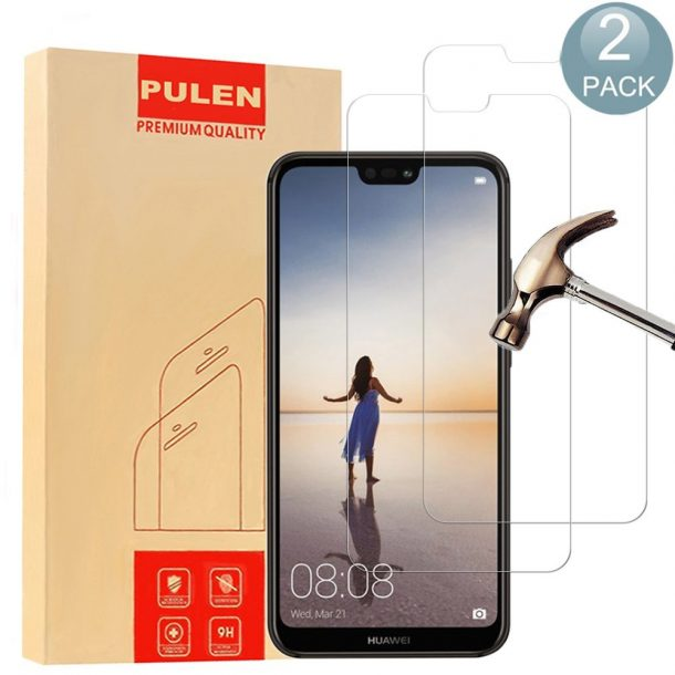 PULEN Tempered Glass Screen Protectors for Huawei P20 Lite