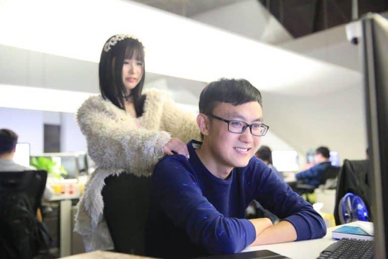 china hiring women to relax programmers