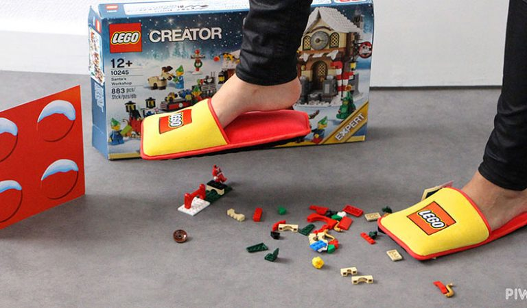 LEGO Has Created Slippers To End The Pain Of Stepping On Them