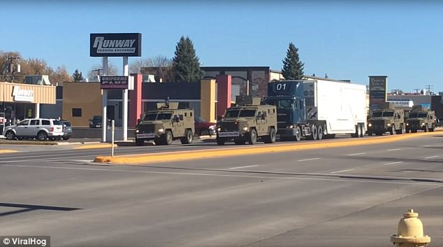 Amateur Video Shows How Nuclear Warheads Are Transported In The USA