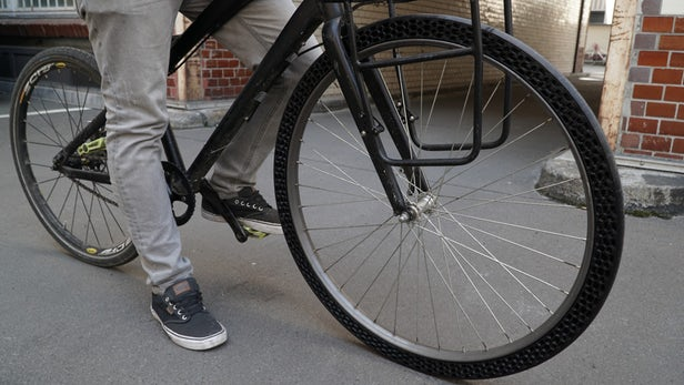Say Hello To World's First 3D-Printed Bicycle Tires That Never Puncture