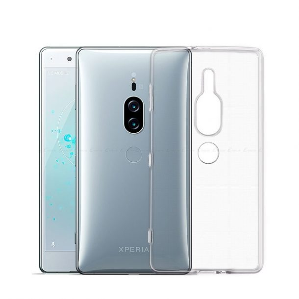 Clear Shockproof Silicone TPU Case for Sony Xperia XZ2 Premium