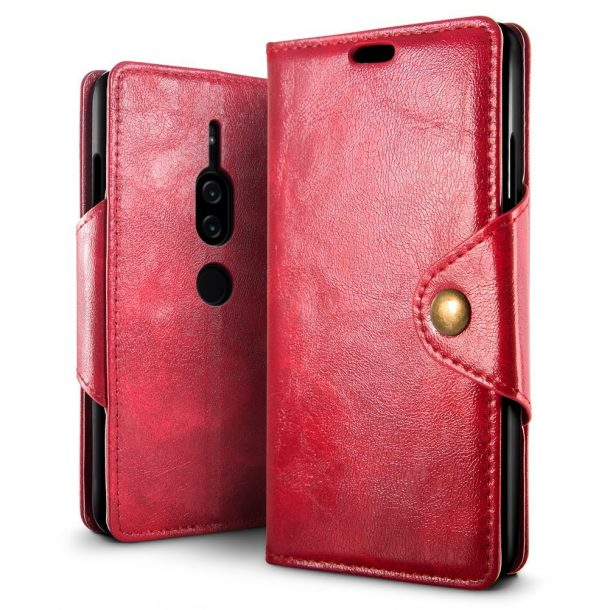 SLEO PU Leather Wallet Folio Flip Case