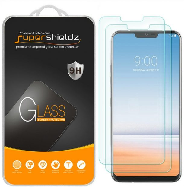 Supershieldz Tempered Glass Screen Protectors for LG G7 ThinQ