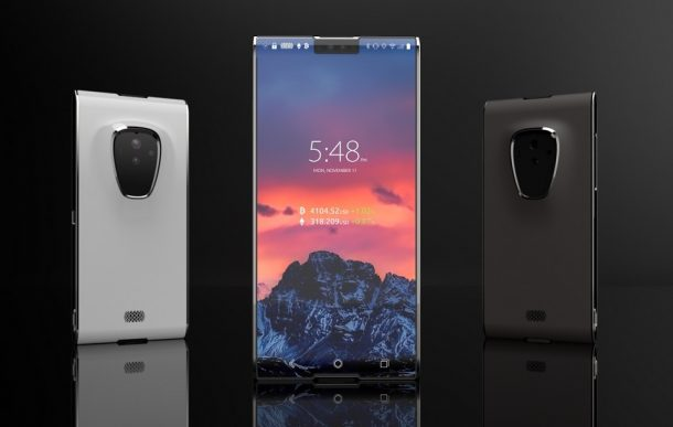 The First Of Its Kind Blockchain Smartphone Costs $999