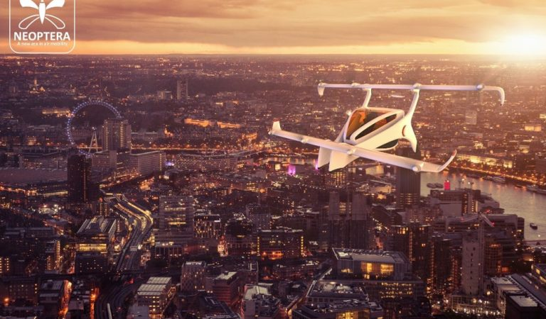Neoptera Is A New Electric Light Aircraft That Can Fly Vertical