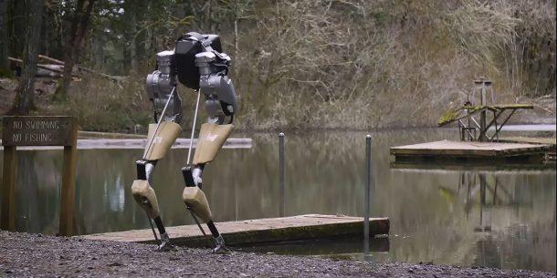 bipedal robot cassie