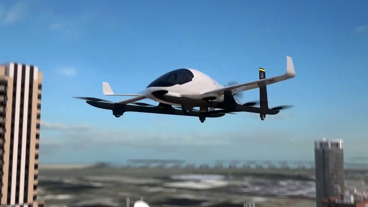 uber aircraft flying taxi