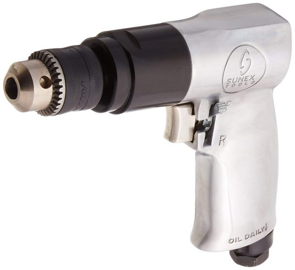 Sunex 223 3/8-Inch Reversible Air Drill