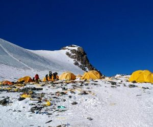 mount Everest biggest dump