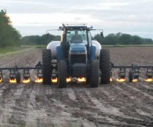 tractor flamethrower