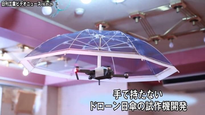 drone umbrella