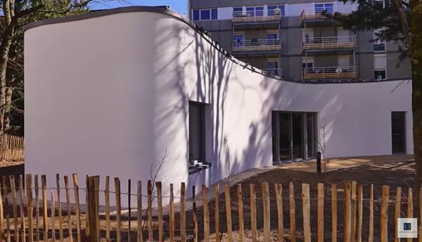 3d printed house in france