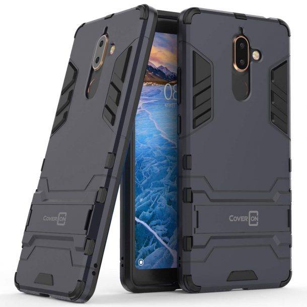 CoverON Hybrid Matte Phone Case for Nokia 7 Plus